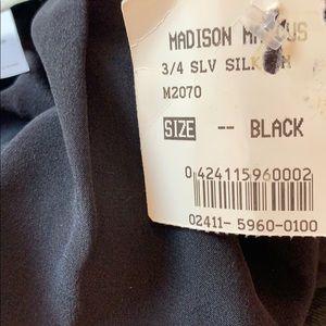 Madison Marcus Dresses - Madison Marcus Black/Gray Cocktail Career/Work Sz0